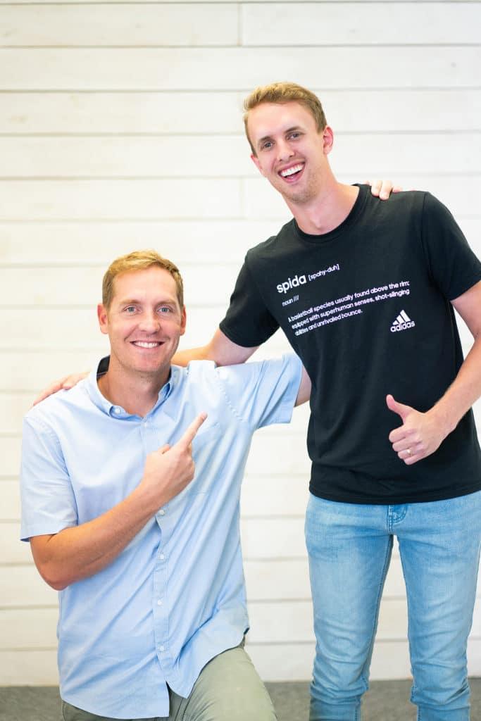 Travis Hansen and Ryan Sagers