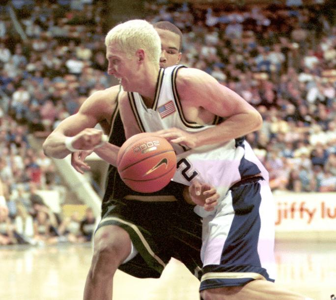 Travis Hansen Playing Basketball