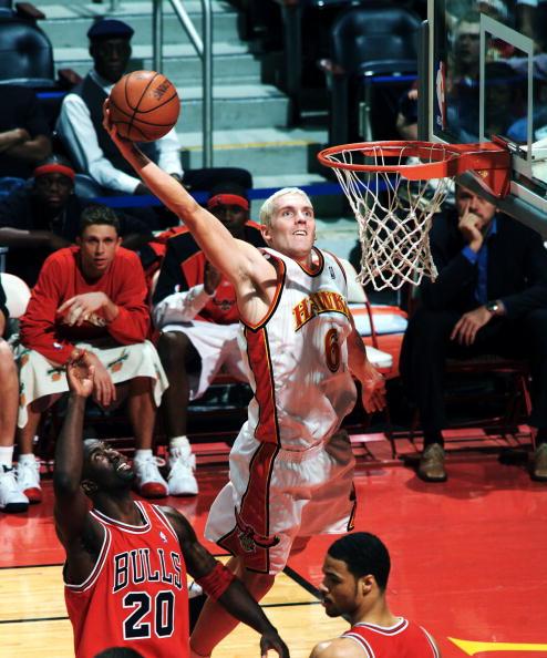 Travis Hansen Playing Basketball with Hawks