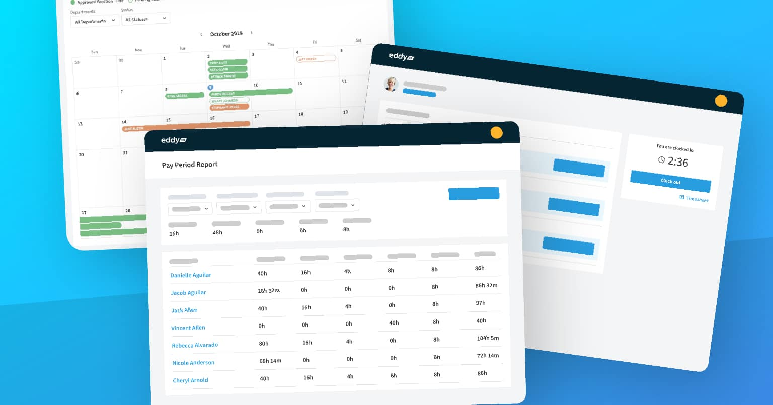 What's New in EddyHR- Time Tracking, Payroll, and Who's Out Calendar