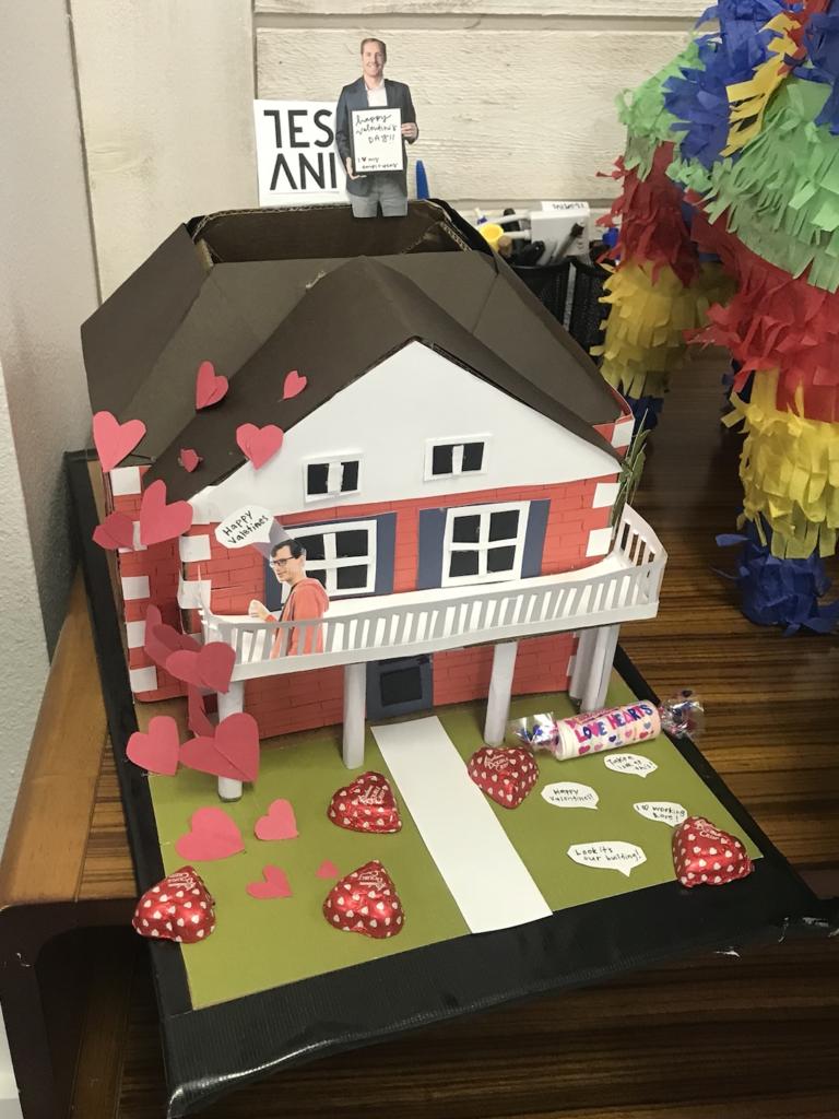 Valentine's Party Box Tesani