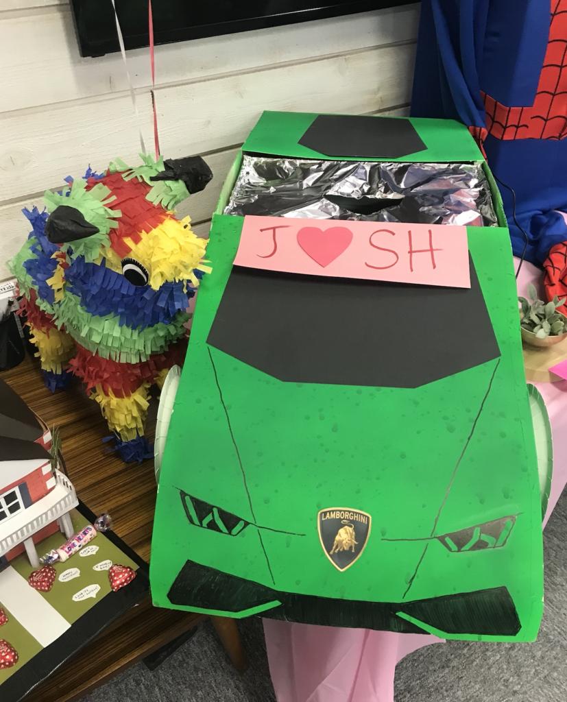 Valentine's Party Box Car