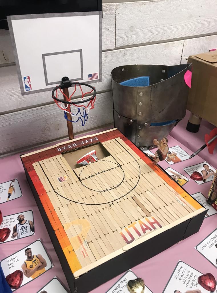Valentine's Party Box - Utah Jazz