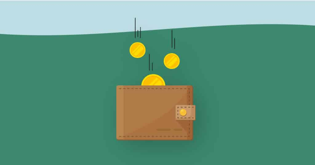 What does paid in arrears mean