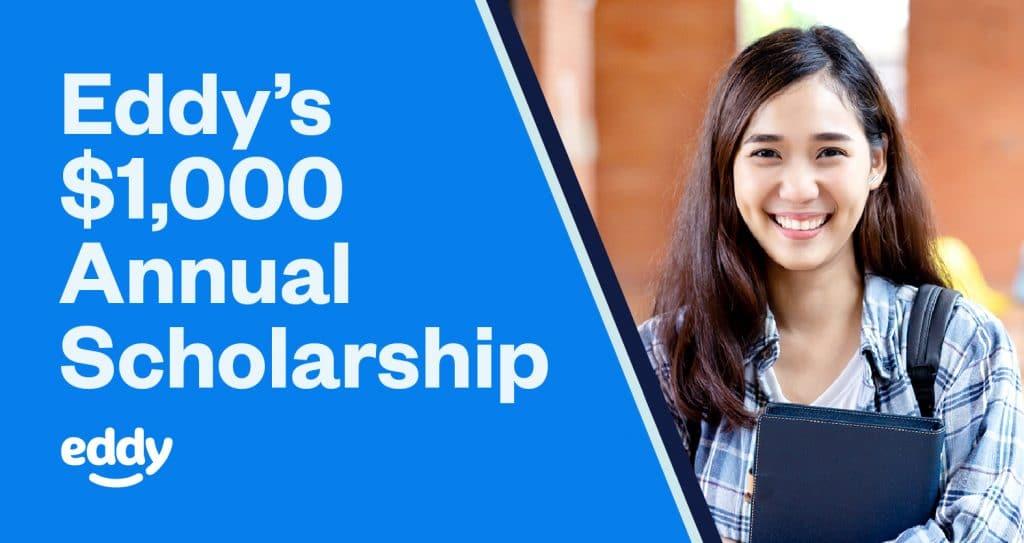 Eddy's $1,000 Annual Scholarship
